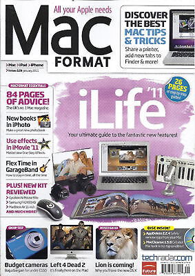 Mac Format magazine iLife Budget cameras iPhoto iMovie effects GarageBand
