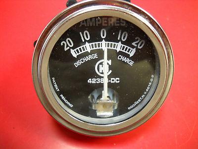 Ih Farmall Ammeter Amp Gauge Cub A B H M I4 I6 I9 O4 O6 T4 T6 W4 W6 W9 42383dc