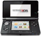 Nintendo 3DS Cosmo Black Handheld System (PAL)