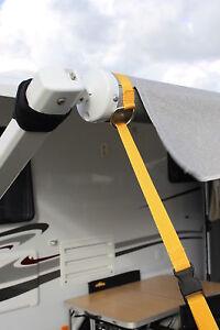 Caravan Awning Storm Tie Down Straps Kit 2 per Set Pop Top ...