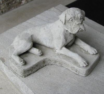 CONCRETE BOXER STATUE OR USE AS A MEMORIAL,,,,,GRAVE MARKER