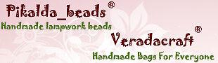 PIKALDA SHOP Handmade Lampwork Bead