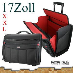 Trolley-Koffer-Tasche-mit-Rollen-Reise-Sport-XXL-17-Zoll-Laptop