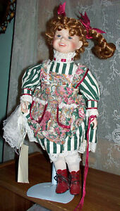 House-of-Lloyd-Margaret-Ann-Porcelain-Vintage-Collectible-Doll