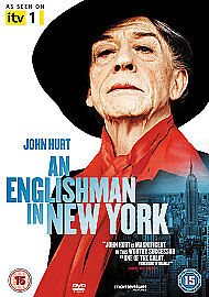 An Englishman in New York (2009)  Rare UK Reg 2 DVD, John Hurt, (Quentin Crisp)