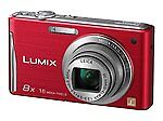 Panasonic LUMIX DMC-FH25 16.1 MP Digital Camera - Red