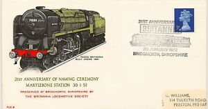 RAILWAY-1972-PL6-Naming-Britannia-BRIDGNORTH