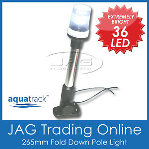 12V-36-LED-FOLD-DOWN-ANCHOR-LIGHT-Navigation-Stern-Pole-Boat-Yacht-Nav-Marine-TL