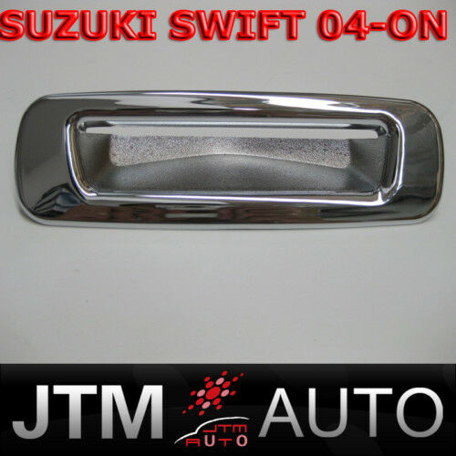 SUZUKI SWIFT CHROME TRUNK REAR DOOR HANDLE COVER 04-ON