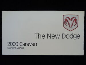 Free 2000 dodge caravan owner's manual