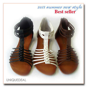 2011Summer-NEW-WOMEN-SHOES-ROMAN-GLADIATOR-FLAT-SANDALS