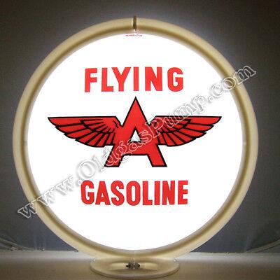 FLYING A GASOLINE GAS PUMP GLOBE FREE S&H