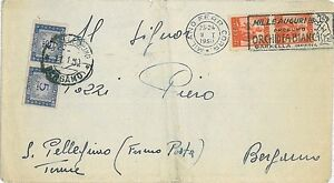 FLOWERS-ORCHIDS-POSTAL-HISTORY-CANCELLATION-ITALY