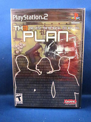 Playstation 2 The Plan Video Game