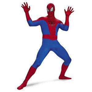 Teen-38-40-Marvel-Comics-Spider-Man-Rental-Super-Deluxe-Suit-Halloween-Costume