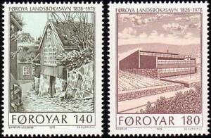 Denmark Faroe 1978 Mi 39-40 ** Slania Słania Biblioteka Polonica - <span itemprop=availableAtOrFrom> Dabrowa, Polska</span> - Denmark Faroe 1978 Mi 39-40 ** Slania Słania Biblioteka Polonica -  Dabrowa, Polska