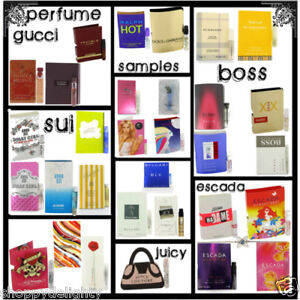PERFUME SAMPLES 20 DIFFERENT FRAGRANCES BULK LOT TRY