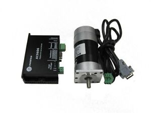 Leadshine 90W brushless DC servo set (drive + motor)