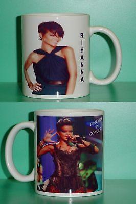 RIHANNA - with 2 Photos - Designer Collectible GIFT Mug