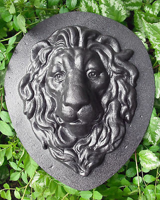 cement plaster concrete mold lion ABS plastic mold on Rummage