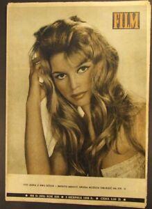 BRIGITTE BARDOT old rare mag.1958 MIJANOU BARDOT,Michele Morgan - europe, Polska - Zwroty są przyjmowane - europe, Polska