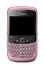 Mobile Phone: BlackBerry Curve 8520 - Pink (O2) Smartphone