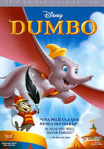 Dumbo (DVD, 2011, 70th Anniversary Edition, Spanish/English, Full Screen) *NEW*