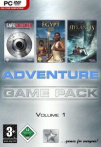 Adventure Pack 1  Aura 2, Dead Reefs, SafeCracker(PC, 2008)  Neuware