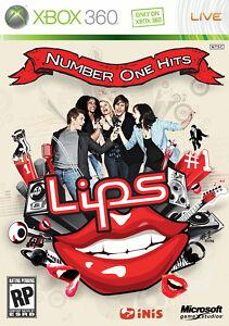 Lips: Number One Hits (ohne Mikrophone) für Xbox 360 *gut* (mit OVP)