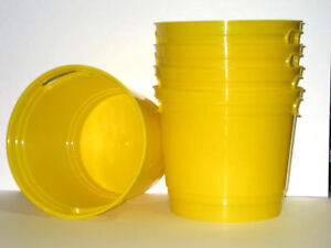 1-2-GALLON-YELLOW-PLASTIC-BUCKET-PAIL-PLASTIC-CONTAINER