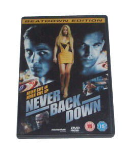 Never Back Down  DVD Sean Faris Amber Heard Cam Gigandet Evan Peters Leslie - <span itemprop='availableAtOrFrom'>Perth, United Kingdom</span> - Never Back Down  DVD Sean Faris Amber Heard Cam Gigandet Evan Peters Leslie - Perth, United Kingdom