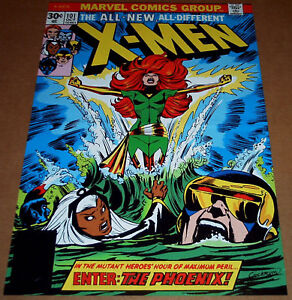 DARK-PHOENIX-UNCANNY-X-MEN-101-MARVEL-COMIC-BOOK-POSTER-WOLVERINE-STORM-CYCLOPS