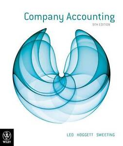 Company Accounting by John Hoggett, Ken ...