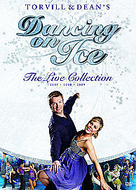 Torvill-And-Dean-039-s-Dancing-On-Ice-The-Bolero-25th-Anniversary-Tour-DVD-2009