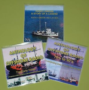 Pirate Radio - 3 DVD Films Offshore Radio Caroline, Radio London, etc
