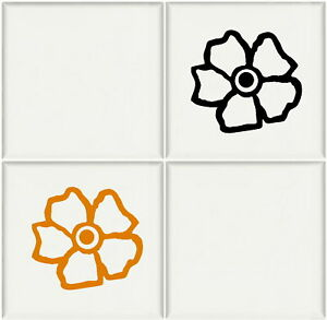 transfers for bathroom tiles flowers bathroom tile transfers vinyl decal kitchen 21018