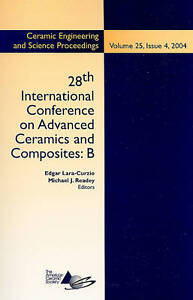 28th International Conference on Advanced Ceramics and Composites B, Edgar Lara&