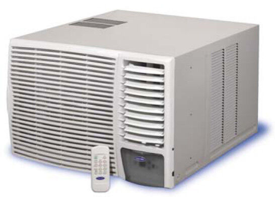 Fedders 18,000 Cooling 16,000 Heating BTU Heat/Cool Room Air Conditioner . Electronic controls with full-featured remote; 3 cooling/heating and 3 fan speeds
