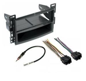 aftermarket stereo radio installation mount dash kit wire harness adatper ebay