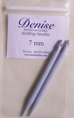 Denise Interchangeable Knitting Needle Tip 7mm, 5-15