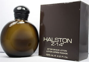HALSTON Z-14 4.2 OZ AFTER SHAVE LOTION FOR MEN NIB