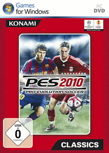 Pro Evolution Soccer 2010 (PC, 2010, DVD-Box)
