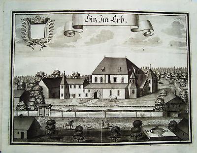 Schloß Erb Schalden Österreich Wening  Kupferstich 1721