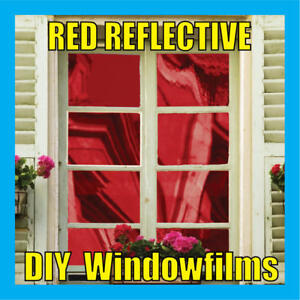 RED-SOLAR-REFLECTIVE-ONE-WAY-MIRROR-WINDOW-FILM-TINT