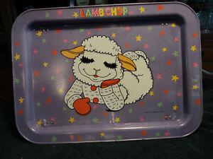 Collectible-Lamb-Chop-Dinner-Tray