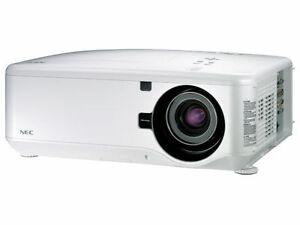 New-NEC-NP4100-Projector-Bundle-with-NP-10ZL-LENS-INCLUDED-6200-Lumens