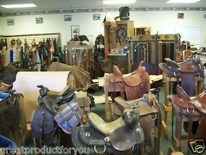R-O-BROOKS-LEATHER-SADDLE-AND-BELTS-FROM-MONTANA