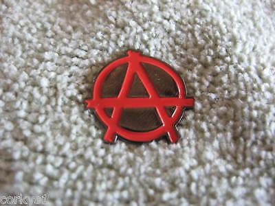 """ANARCHY Pin/Badge Punk Revolt """"Anarchy"""" Enamel Pin """"ANARCHY"""""""