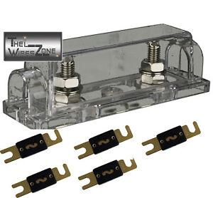 200 amp fuse adaptor box 150 amp fuse holder box quality anl fuse holder 5 pack 150 amp anl fuses   ebay