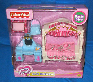FISHER-PRICE-LOVING-FAMILY-BASIC-DECOR-KIDS-BEDROOM-NEW